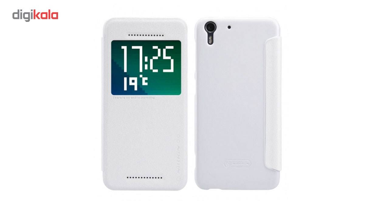 کیف کلاسوری نیلکین مدل New Leather Sparkle مناسب برای گوشی موبایل HTC Desire Eye main 1 3
