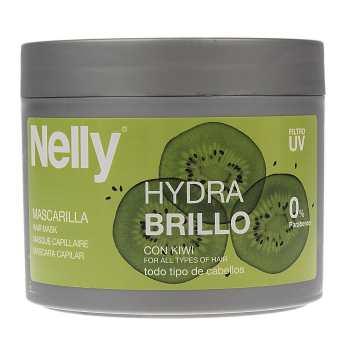 ماسک براق کننده مو نلی مدل Hydra Brillo حجم 300 میلی لیتر