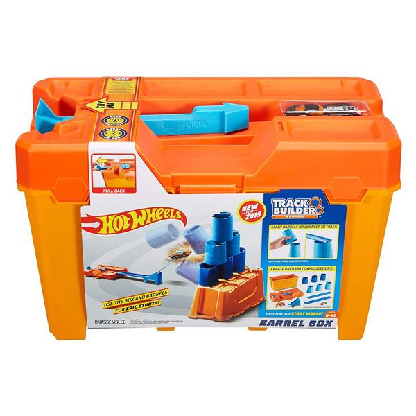 کیت ماشین بازی هات ویلز مدل Track Builder Barrel Box کد GCF91