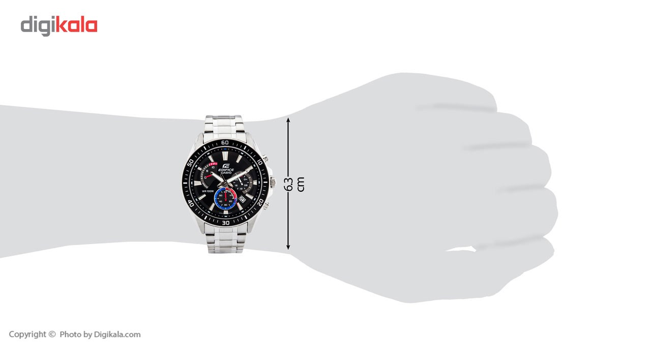 ساعت مچی عقربه ای مردانه کاسیو مدل EFR-552D-1A3VUDF
