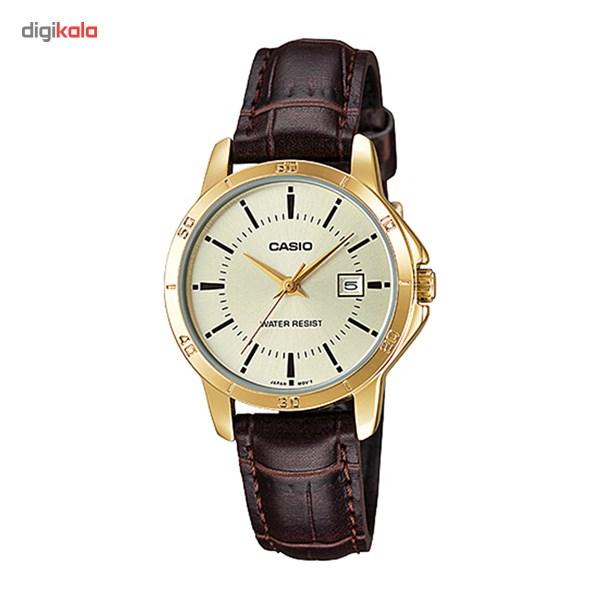 خرید ساعت مچی عقربه ای کاسیو مدل LTP-V004GL-9AUDF مناسب برای بانوان | ساعت مچی