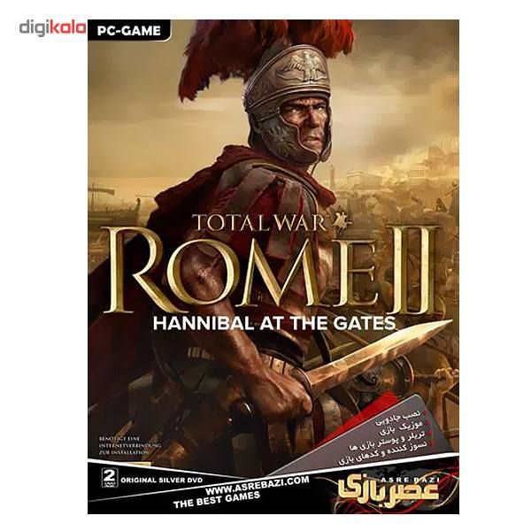 بازی کامپیوتری Total War Rome 2 Hannibal At The Gates  Total War Rome 2 Hannibal At The Gates Pc G