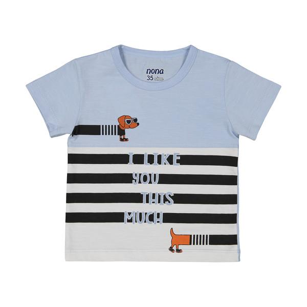 تی شرت پسرانه نونا مدل 2211117-51