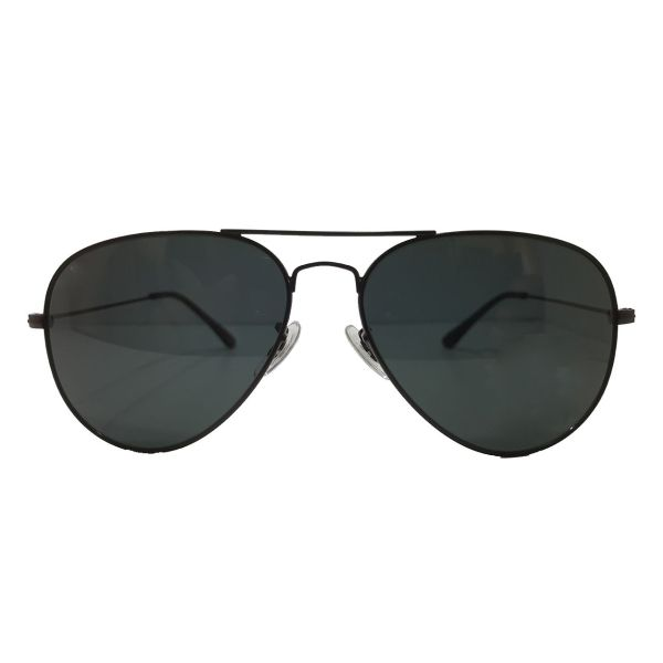 عینک آفتابی مدل Aviator Large Metal 112172 3N