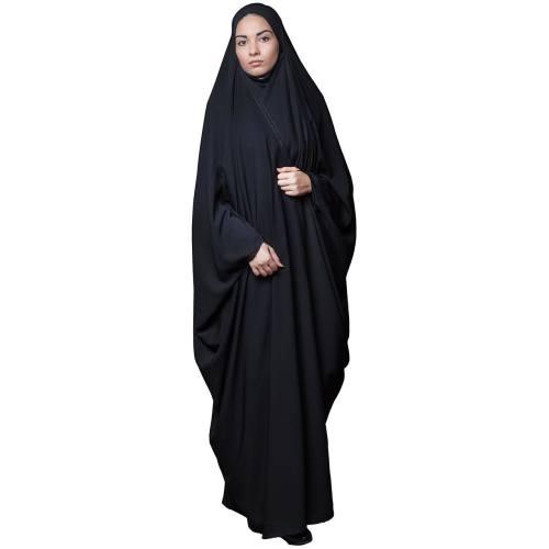 چادر بیروتی / بحرینی /  کرپ کریستال حجاب فاطمی مدل 201162kr