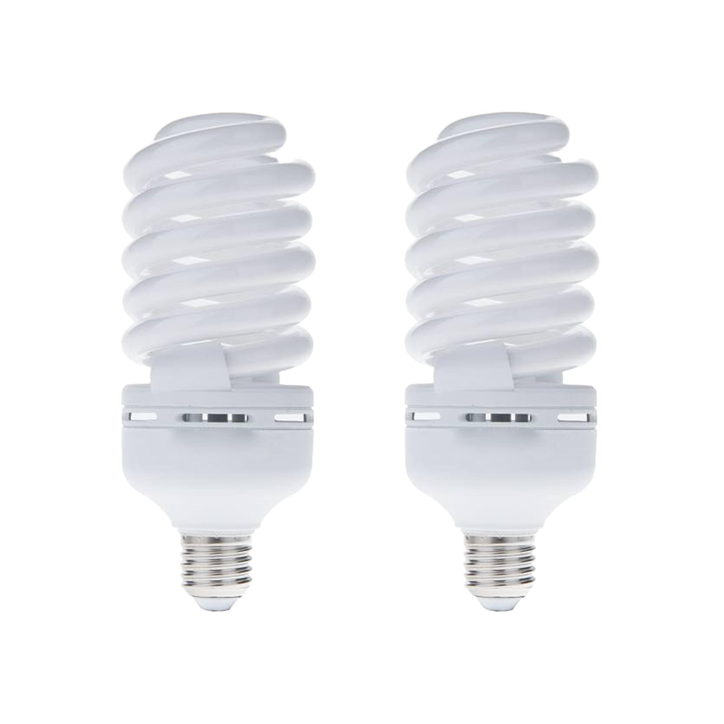 لامپ کم مصرف 40 وات لامپ نور مدل BL پایه E27 بسته 2 عددی