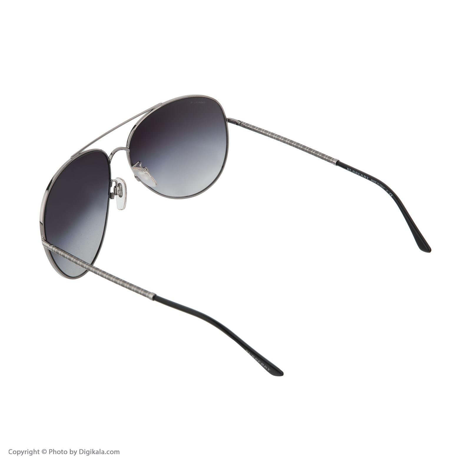 عینک آفتابی زنانه بربری مدل BE 3051S 10068G 61 -  - 5