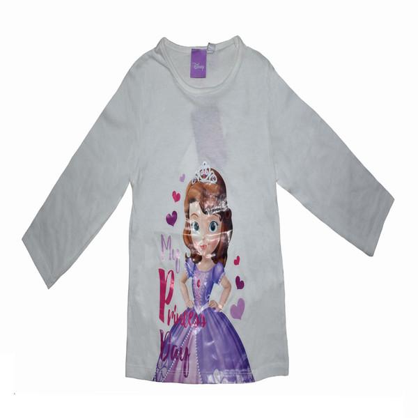 تی شرت آستین بلند دخترانه دیزنی مدل dis003