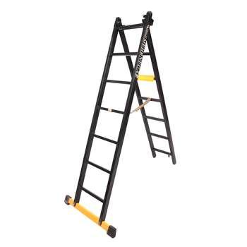 نردبان 14 پله مهرنگار مدل GALAXY به همراه پایه تعادل