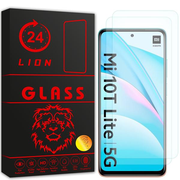 محافظ صفحه نمایش لاین مدل RB007 مناسب برای گوشی موبایل شیائومی Mi 10T Lite 5G بسته دو عددی
