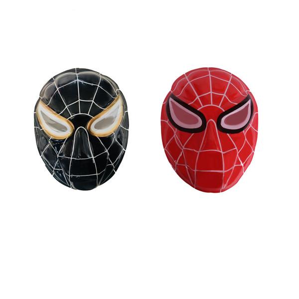 ماسک طرح مرد عنکبوتی مدل Spiderman-Black Red بسته 2 عددی
