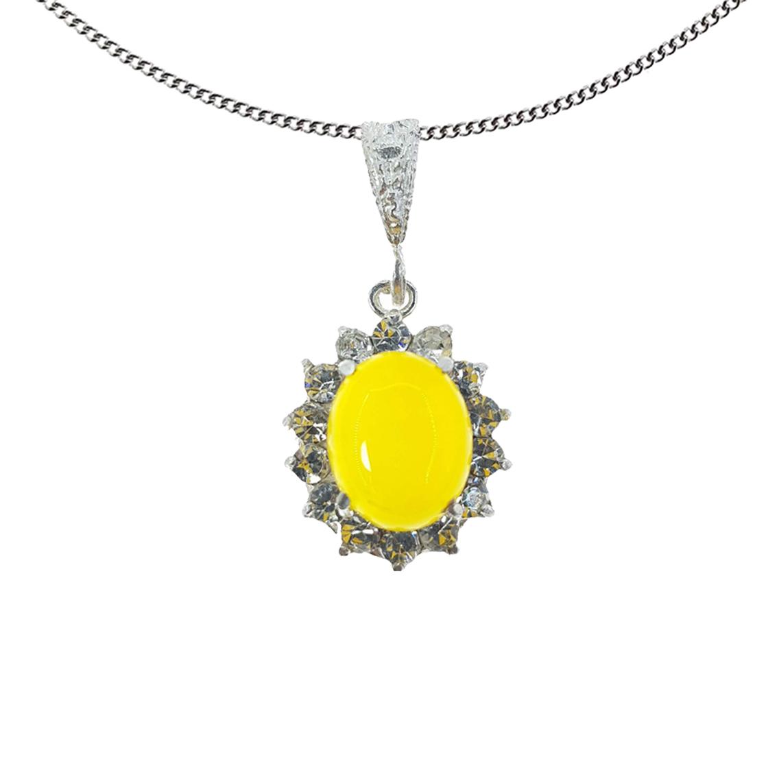 گردنبند نقره زنانه سلین کالا مدل شرف الشمس کد ce-sharaf5
