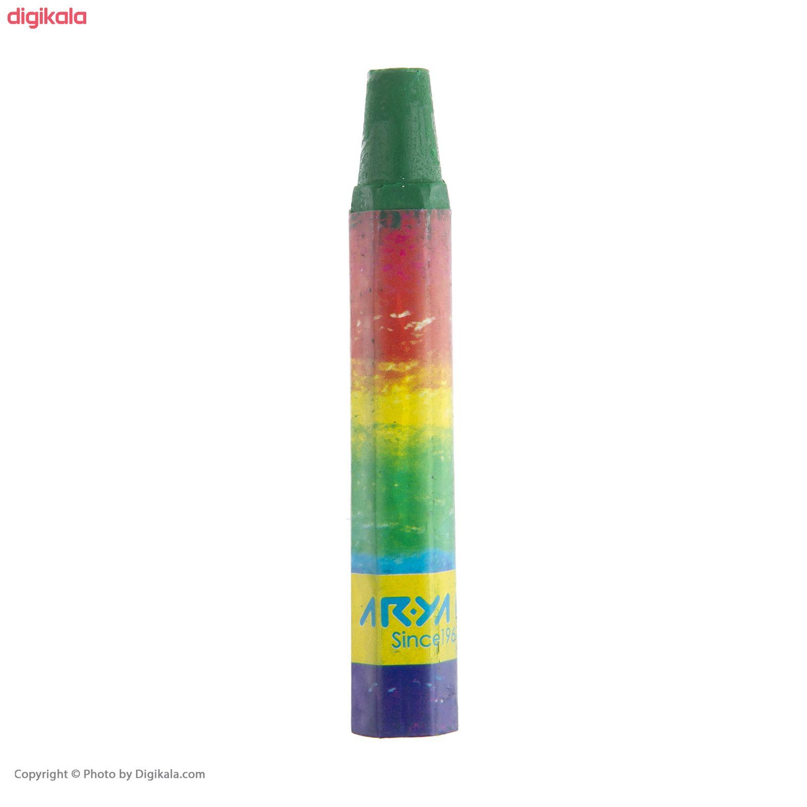 پاستل روغنی 7 رنگ آریا مدل2 2024 A  main 1 5