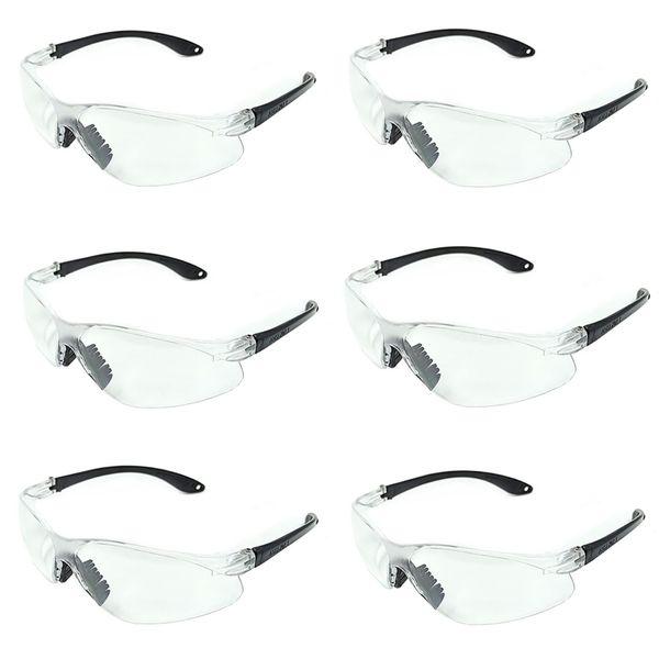 عینک ایمنی مدل C380 بسته 6 عددی