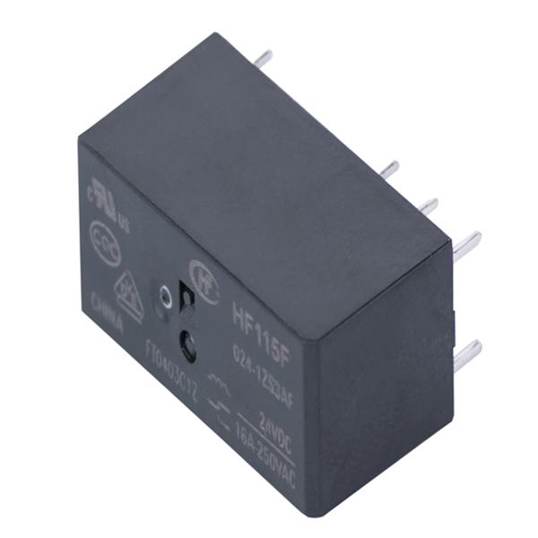 رله 8 پایه هونگفا کد HF115F/024