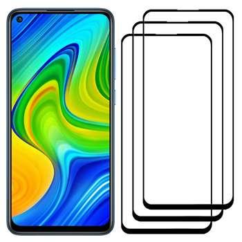 محافظ صفحه نمایش مدل FCG مناسب برای گوشی موبایل شیائومی Redmi Note 9 بسته سه عددی