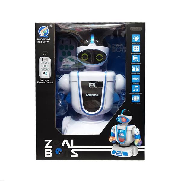 ربات کنترلی مدل قصه گو