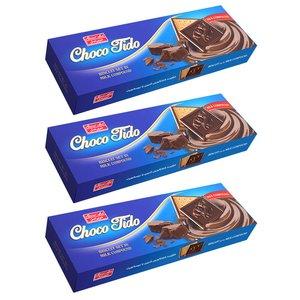 شکوبیسکویت تیدو شکلات شیری شیرین عسل - 432 گرم بسته 3 عددی