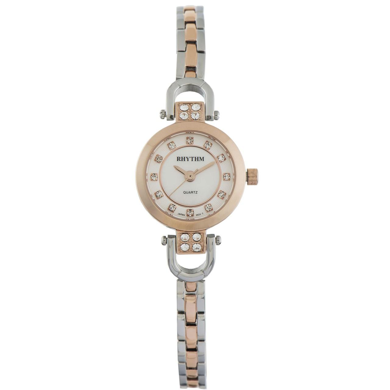 ساعت مچی عقربهای زنانه ریتم مدل OL1515S-08