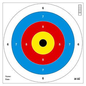 سیبل تفنگ بادی مستر راد مدل وایرخ کد 1491 بسته 50 عددی
