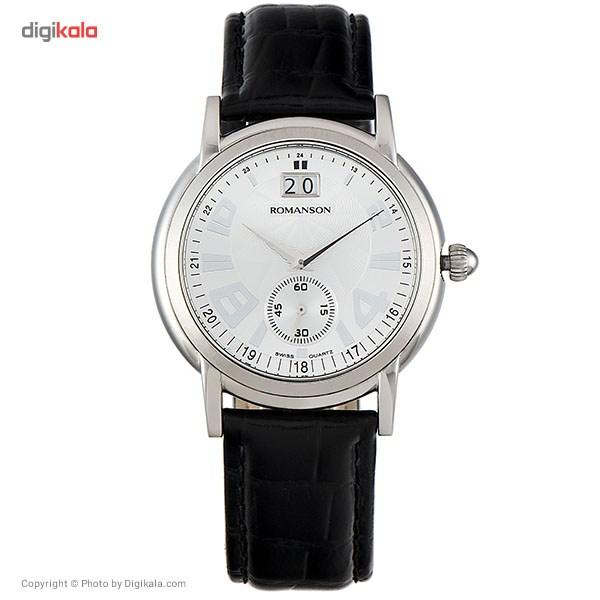 ساعت مچی عقربه ای مردانه رومانسون مدل TL3587BM1WAS2W