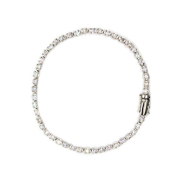 دستبند نقره سیلواستار مدل AB009