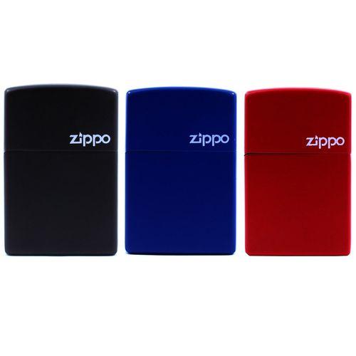 فندک طرح Zippo مدل Colour بسته 3 عددی