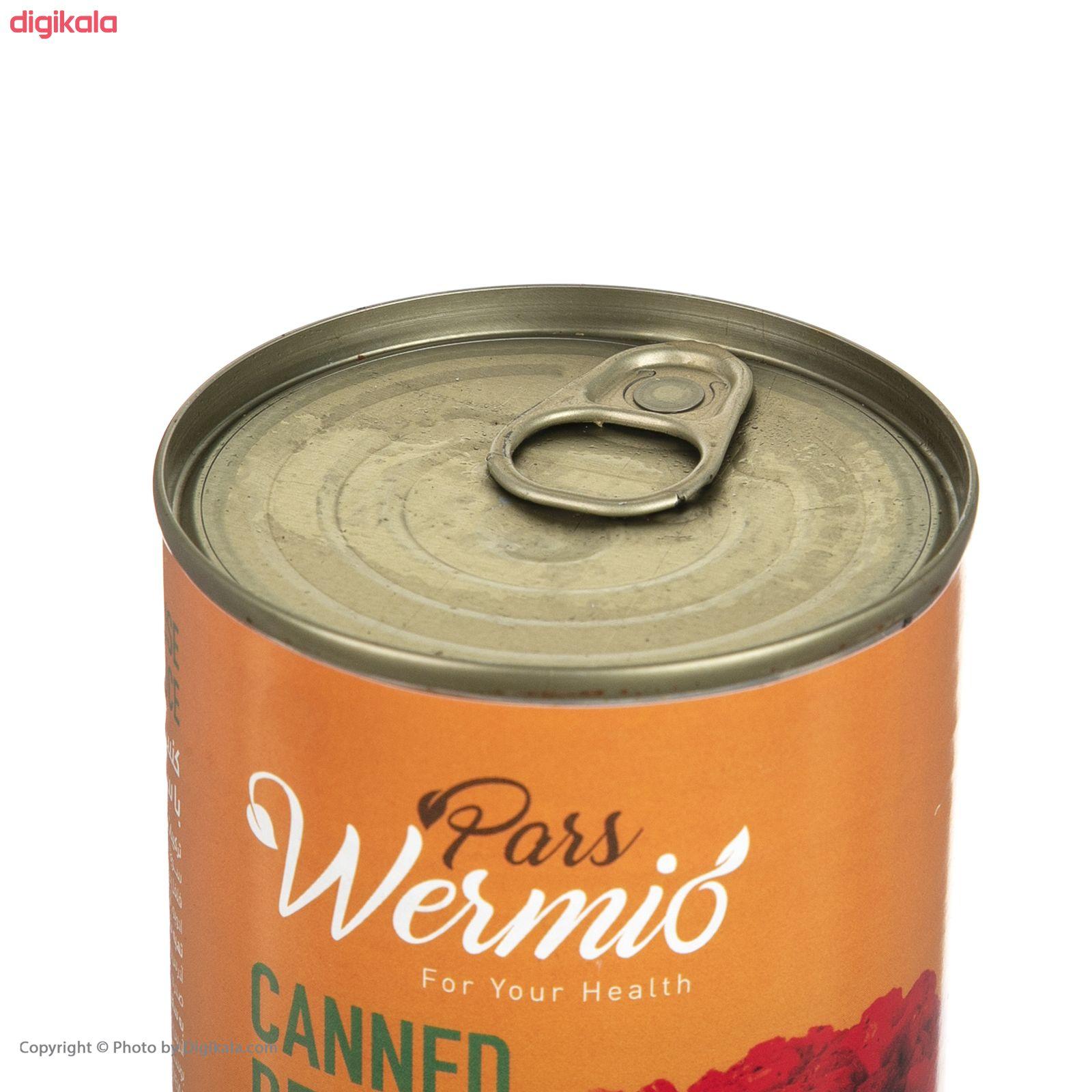 کنسرو مایه ماکارونی با سویا و قارچ پارس ورمیو - 420 گرم main 1 3