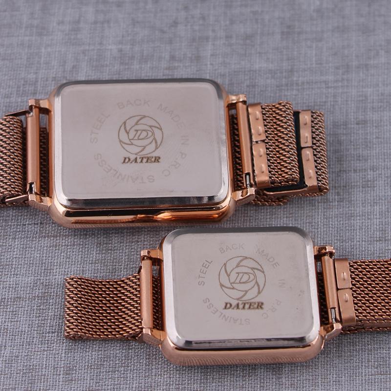 ست ساعت مچی دیجیتال زنانه و مردانه دیتر مدل LE 3295 -ST-R-M