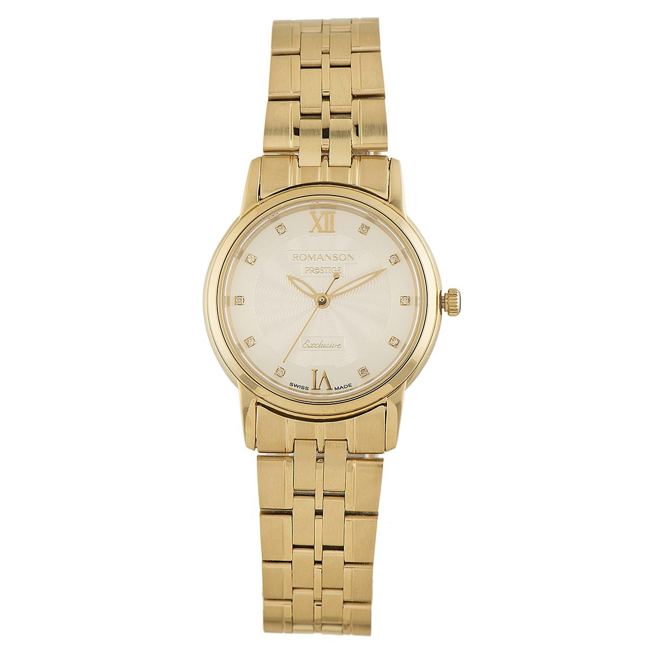 ساعت مچی عقربه ای زنانه رومانسون مدل TM3257LL1GAS1G 45