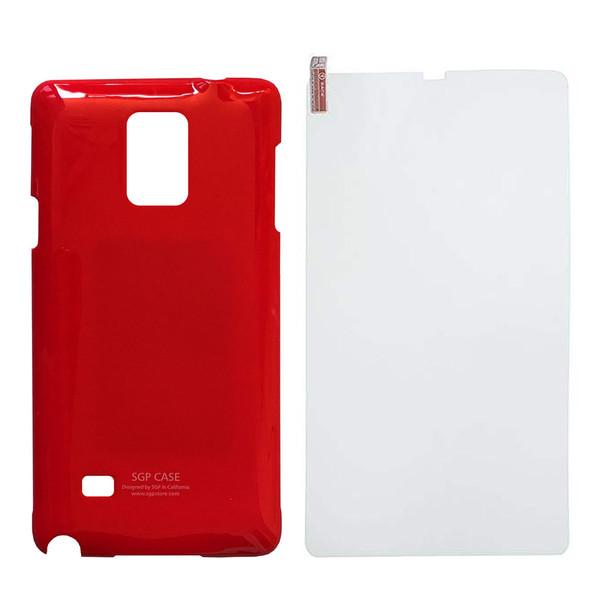کاور اس جی پی کد S578 مناسب برای گوشی موبایل سامسونگ Galaxy Note 4 به همراه محافظ صفحه نمایش