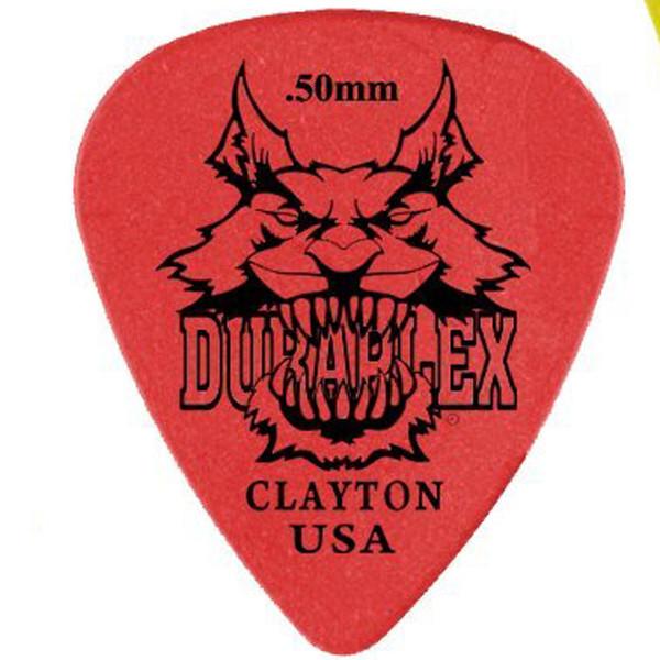 پیک گیتار الکتریک کلایتون مدل Duraplex 0.50 mm
