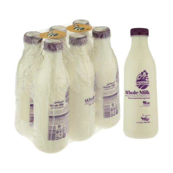 شیر کامل ارگانیک آقای طبیعی - 945 میلی لیتر بسته 6 عددی