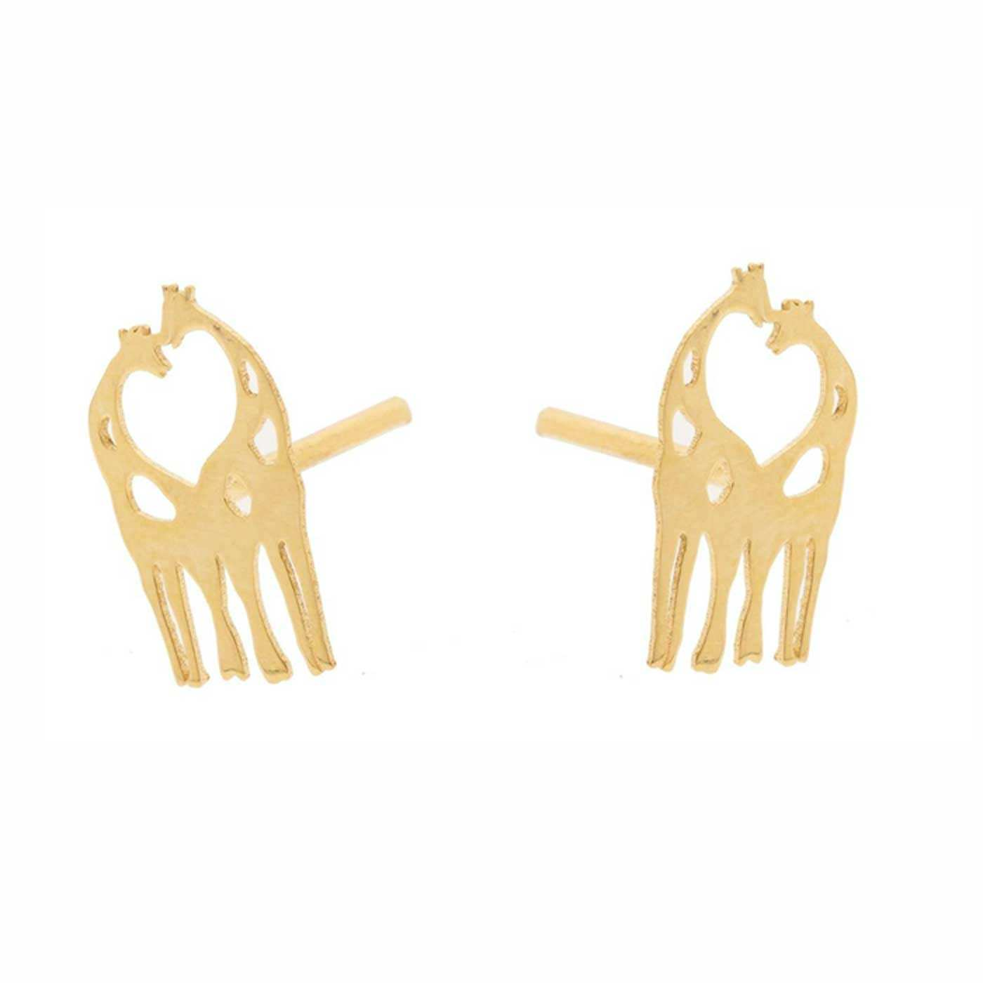 گوشواره طلا 18 عیار زنانه کانیار گالری کد GOA103 -  - 4