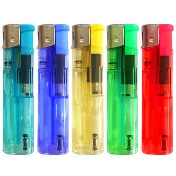 فندک مدل رنگین کمان کد FR500 بسته 5 عددی
