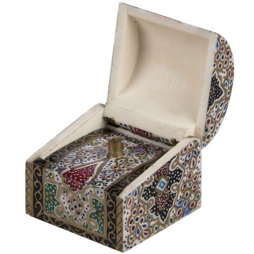 جعبه استخوانی اثر بهشتی طرح تذهیب 3 سایز کوچک