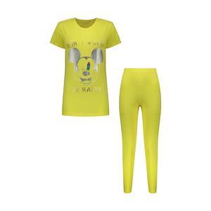 ست تی شرت و شلوار زنانه مدل 358135210