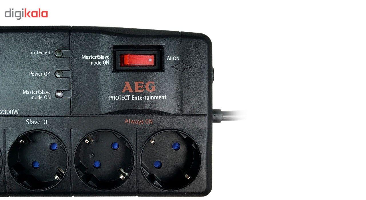 چند راهی برق AEG  مدل Protect Entertainment GE main 1 3