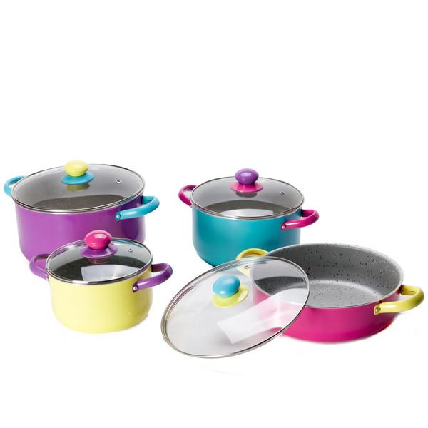 سرویس پخت وپز 8 پارچه پن هوم مدل Colorful