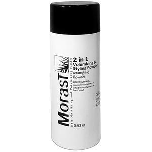 پودر مات کننده و پوش دهنده موی مورست حجم 15 گرم