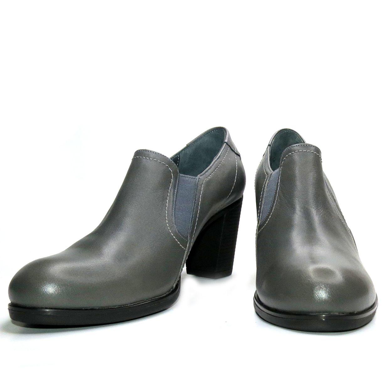 کفش زنانه آر اند دبلیو مدل 487 رنگ طوسی -  - 4