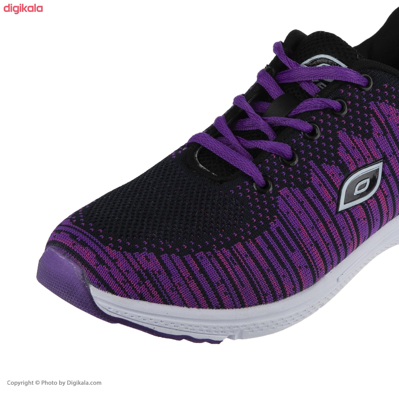 کفش مخصوص پیاده روی زنانه ملی مدل 83590572 رنگ بنفش main 1 4