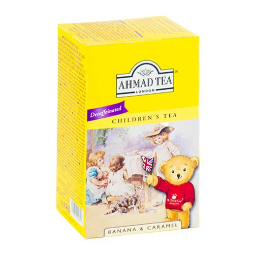بسته چای کیسه ای چای احمد مدل Children Tea