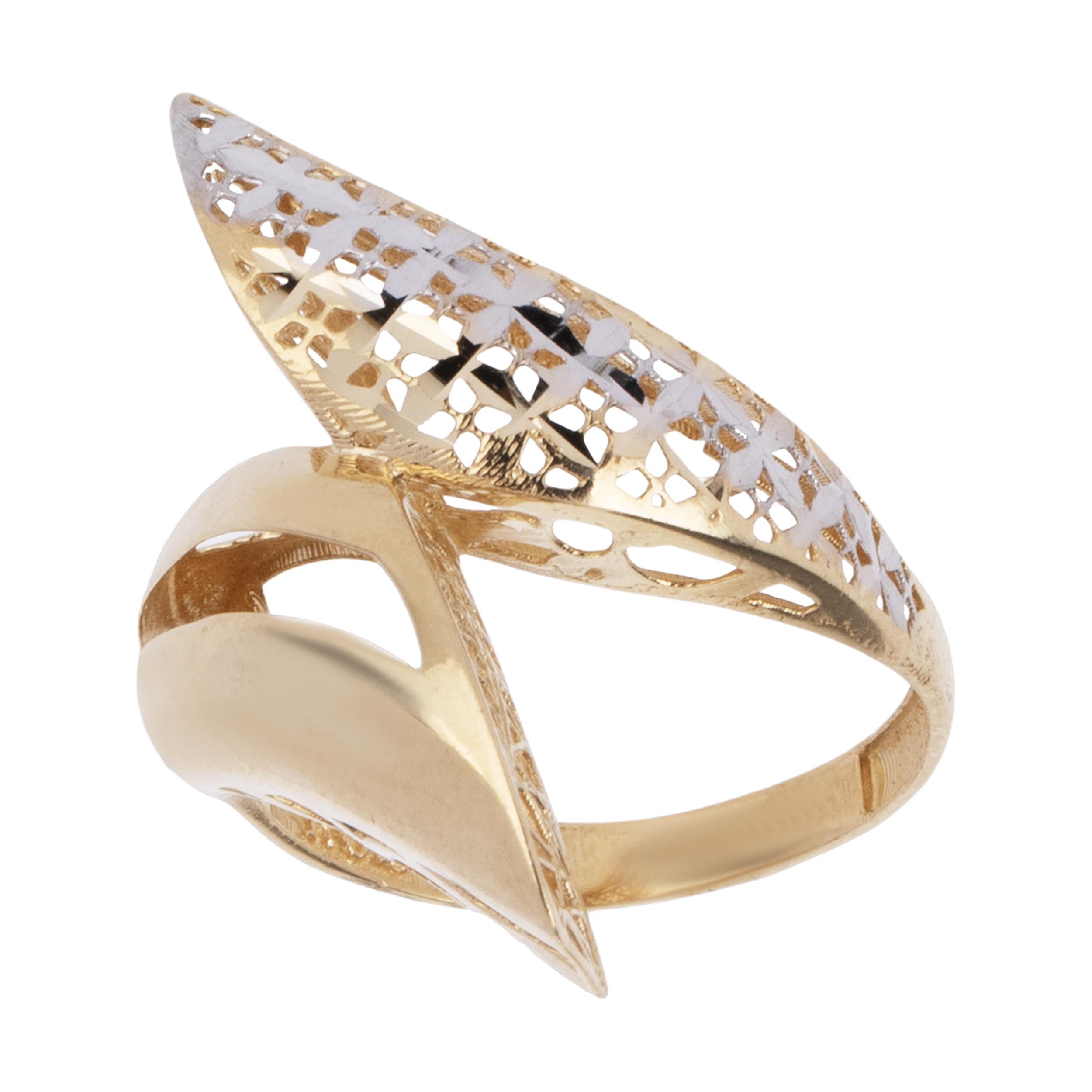 انگشتر طلا 18 عیار زنانه آلند کد BR23