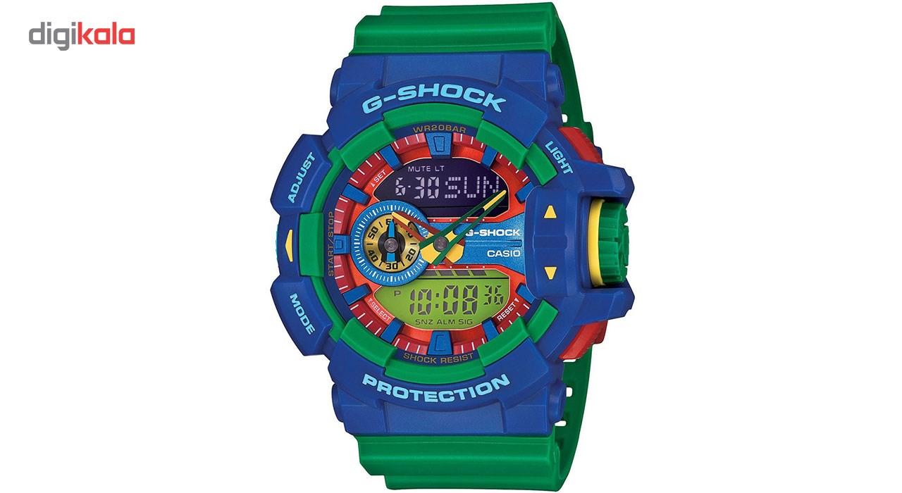 خرید ساعت مچی عقربه ای مردانه کاسیو جی شاک مدل GA-400-2ADR