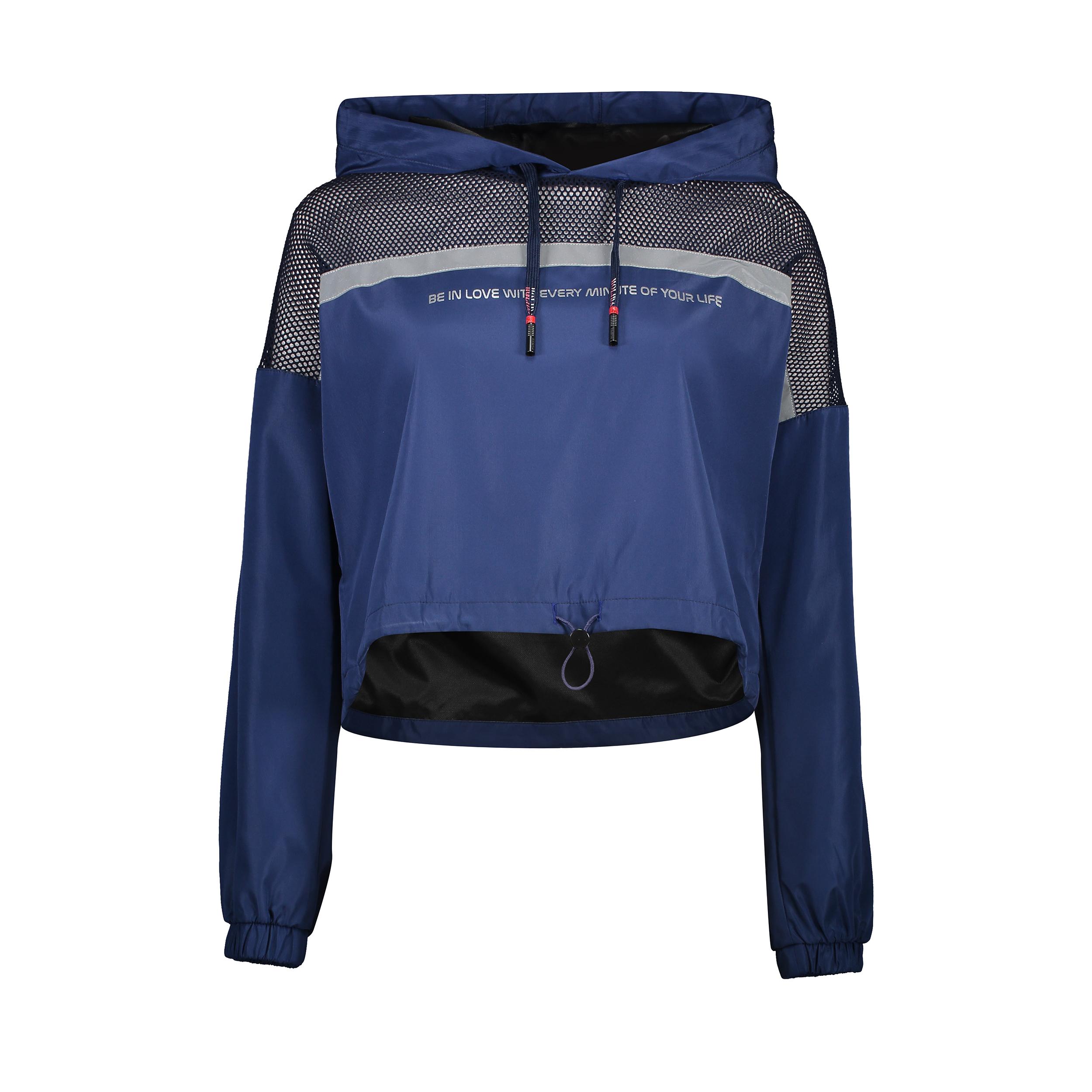 هودی ورزشی زنانه هالیدی مدل 861208-dark blue navy
