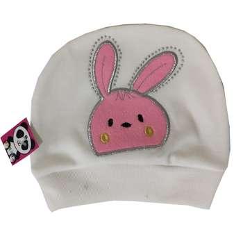 کلاه نوزادی مدل خرگوش کد 456