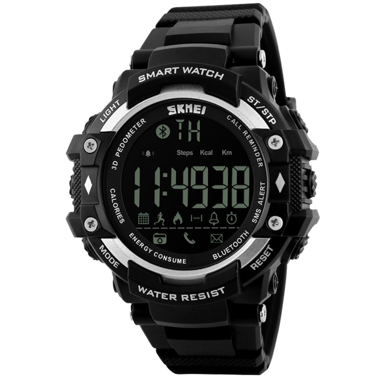 بررسی و {خرید با تخفیف}                                     ساعت هوشمند اسکمی مدل 1226                             اصل