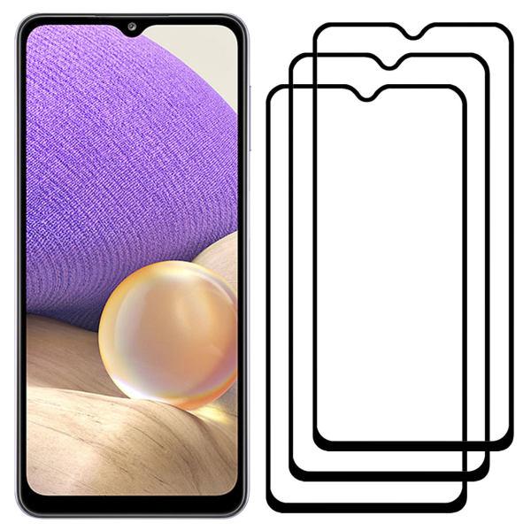 محافظ صفحه نمایش مدل FCG مناسب برای گوشی موبایل سامسونگ Galaxy A32 بسته سه عددی