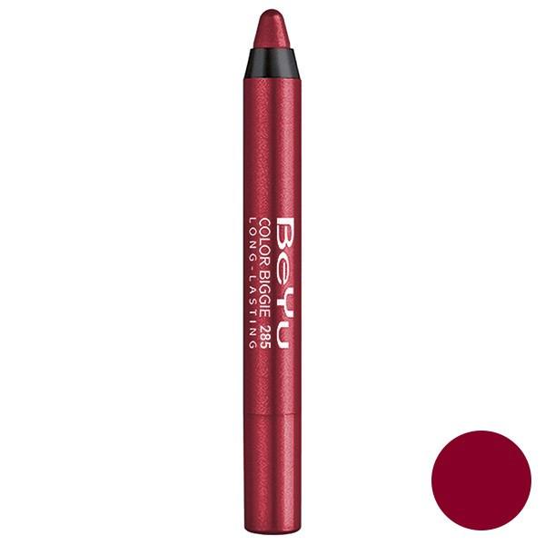 رژ لب مدادی 2 کاره بی یو مدل Color Biggie for Lip and More 285
